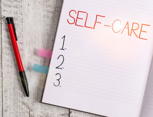 Self-care and routine can help